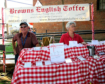 Browns English Toffee - Plymouth Farmers Market