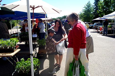 Jackson Farmers Market -Opening Day 2010